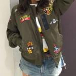 仲里依紗の衣装 最高のオヤコのブルゾンが可愛い!Tシャツやスカート