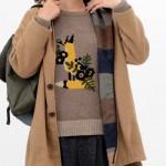 川口春奈のコートはこれ!家族ノカタチ4話の衣装・ニット・リュックのブランドは?