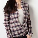 ラヴソング【藤原さくら】の衣装が可愛い チェックシャツやカーディガンのブランドは?