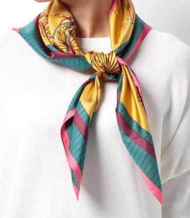 石原さとみ スカーフ