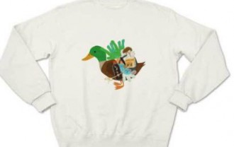 多部未華子 鳥Tシャツ