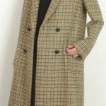 「有吉の壁」佐藤栞里の衣装 チェック柄のコートが可愛い ブランドはどこの?