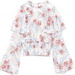 聞いてた話と違います新川優愛の衣装 花柄ブラウスのブランドは?