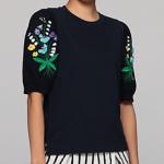 「嵐にしやがれ」波瑠の衣装 スズランの刺繍トップスが可愛い ブランドは?「もみ消して冬」