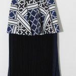 しゃべくり007【上戸彩の衣装】スリーブフリルトップと変型スカートのコーデが可愛い ブランドは?