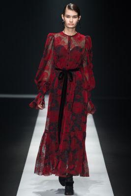 格付けチェック2019観月ありさの衣装 赤いドレスが素敵