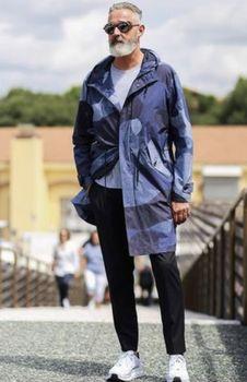 東京独身男子衣装【迷彩コート】
