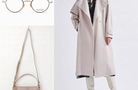 アプリで恋する20の条件本田翼さん衣装(コート・メガネ・バッグ)