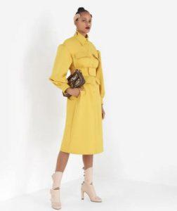 ボス恋衣装(菜々緒さん着用黄色のコート)